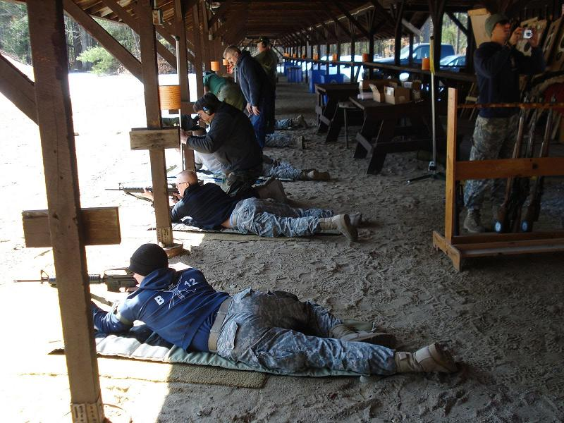 Pershing Rifles Range Event