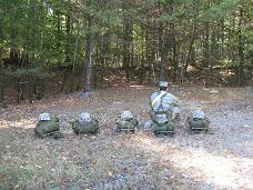 Pershing Rifles Land Navigation & Endurance Course Pictures